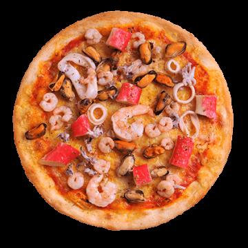 pizza-meeresfrüchte