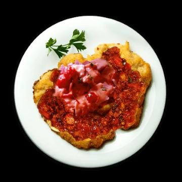 schnitzel-bolognese